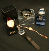 Vintage Wrist Watches Parcel of Five Watches