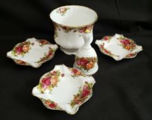 Vintage Royal Albert Old Country Rose 5 Items