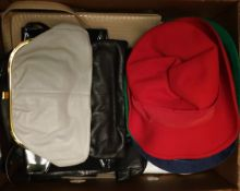 Vintage Hats and Bags Banana Box Full