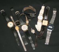Vintage Wrist watches Parcel of Ten Watches