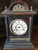Antiques Victorian Mantel Clock 8 Day Cathedral Chimes