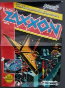 Vintage Spectrum 48k Commodore 64 Game Poster Zaxxon