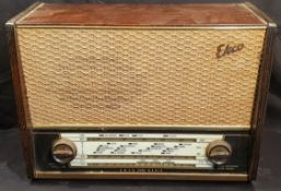 Vintage Ekco A320 Radio Wood Case c1950's