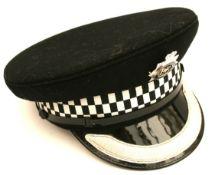 Vintage British Metropolitan Police Senior Officer Hat