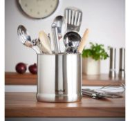 (AP271) Utensil Holder Holds up to 20 kitchen essentials such as spatulas, knives, whisks and l...