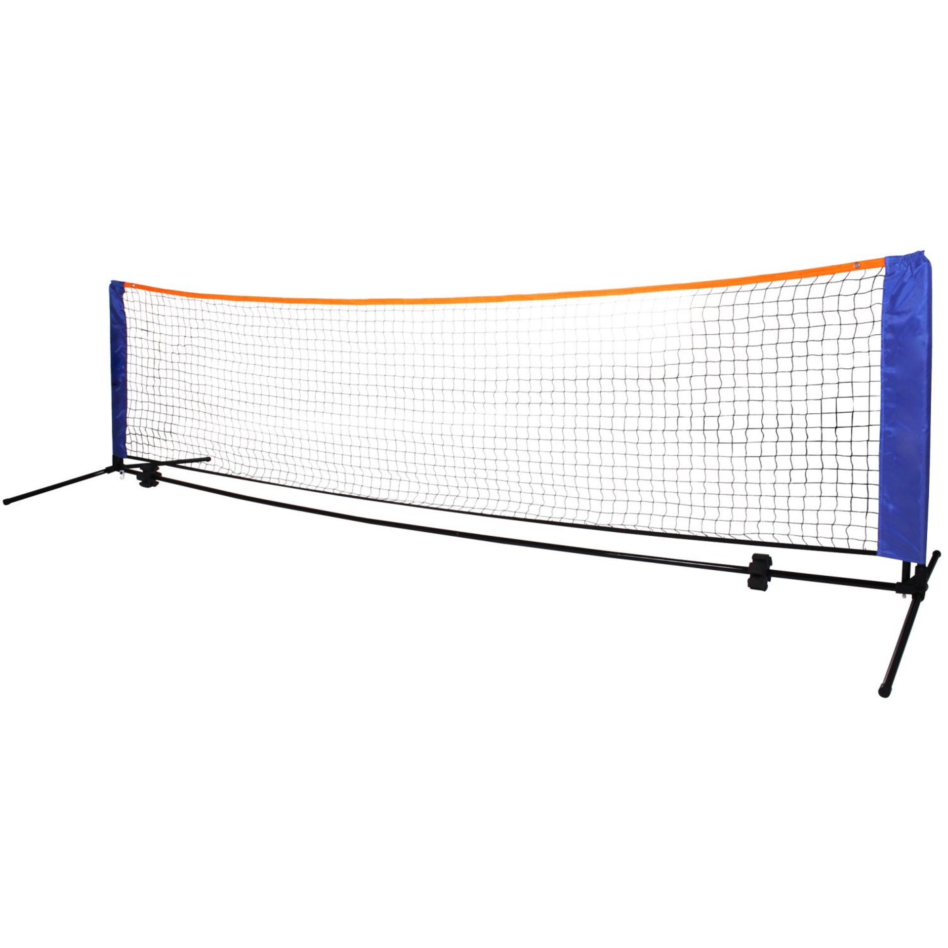 (RL29) Medium 4m Adjustable Foldable Badminton Tennis Volleyball Net The posts are able to... - Image 2 of 2
