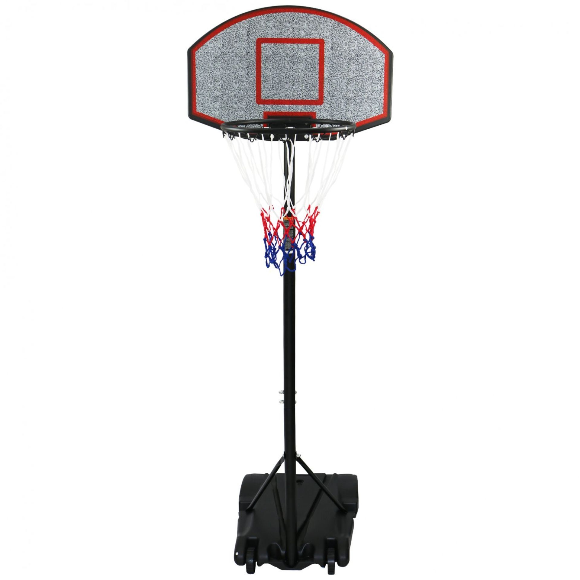 Lot 100 - (RL72) Professional Kids Adjustable Portable Basketball Net 1.7m - 2.1m Any true basketball ...