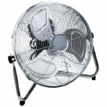 """(RL122) 14"""" Inch Chrome 3 Speed Floor Standing Gym Fan Hydroponic Stay cool this year with t..."""