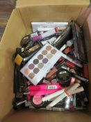 Circa. 200 items of various new make up acadamy make up to include: lipstick, power brow long w...