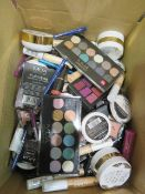 Circa. 200 items of various new make up acadamy make up to include: glow beam highlighting pow...
