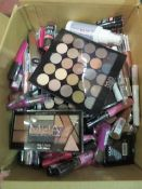 Circa. 200 items of various new make up acadamy make up to include: ultimate undressed palette,...