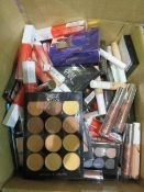 Circa. 200 items of various new make up acadamy make up to include: eye primer, locked lip prim...