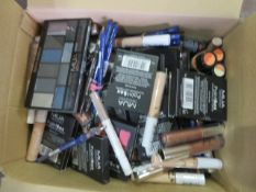 Circa. 200 items of various new make up acadamy make up to include: cover and conceal, lip line...