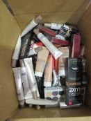 Circa. 200 items of various new make up acadamy make up to include: retro luxe matte lip contou...