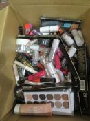 Circa. 200 items of various new make up acadamy make up to include: power brow long wear brow g...