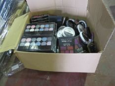 Circa. 200 items of various new make up acadamy make up to include: paint box multishade lip pa...