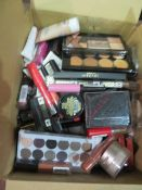 Circa. 200 items of various new make up acadamy make up to include: correct and conceal palette...