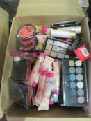 Circa. 200 items of various new make up acadamy make up to include: ombre 3 shade shimmer, blus...
