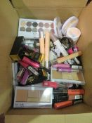 Circa. 200 items of various new make up acadamy make up to include: whipped blush, skin define ...