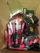 Circa. 200 items of various new make up acadamy make up to include: devoltion eyeshadow palette...