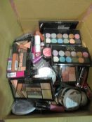 Circa. 200 items of various new make up acadamy make up to include: eye+face devotion eyeshadow...