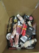 Circa. 200 items of various new make up acadamy make up to include: power brow long wear sculpt...