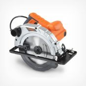 (K5) 185mm Circular Saw Powerful 1200W input Multiple bevel angle settings for joint cuts Si...