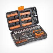 (K8) 130pc Socket + Bit Set 130pc socket and bit set with over a hundred 25 – 50mm bits Set...