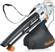 (DD19) 3 in 1 Leaf Blower - 3000W Garden Vacuum & Mulcher - 35 Litre Collection Bag, 10:1 Shred...