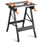 (WK29) Aluminium Top Workbench – Adjustable, Folding, Clamping & Extendable – Ideal For Wor...