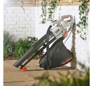 (VL8) 3000W Leaf Blower Powerful 3000W motor blows, vacuums and mulches leaves Automatic mu...