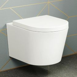 Lyon II Wall Hung Toilet inc Luxury Soft Close Seat. RRP £349.99.We love this because wall hu...