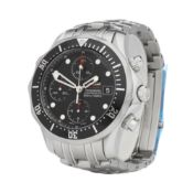 Omega Seamaster 213.30.42.40.01.001 Men Stainless Steel Chronograph Watch