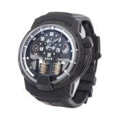 HYT H1 0 148-DL-60-NF-RU Men Titanium Ghost Watch