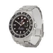 Rolex GMT-Master II 16710 Men Stainless Steel Watch
