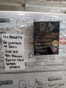 Pallet containing 1200pcs Brand new Wallpaper Adhesive - 200gr packs - similar rrp £2.99 - bra...