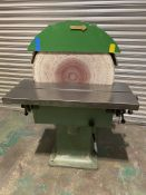 Zimmermann SZ1 600mm disc sander Wadkin Green