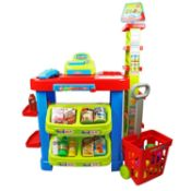 (G7) Childrens Kids Supermarket Shop Grocery Pretend Toy Play Set Suitable For Ages 3 And Ab...