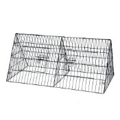 "(G17) 48"" Metal Triangle Rabbit Guinea Pig Pet Hutch Run Cage Playpen Dimensions: 120 x 60 x..."