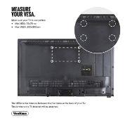 (OM72) 23-42 inch Tilt & Swivel TV bracket Please confirm your TV's VESA Mounting Dimensions...