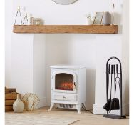 (D20) 1850W Portable Electric Stove Heater Two heat settings - 925W or 1850W Heats rooms up t...