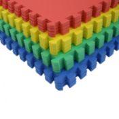 (G30) 64 SQ FT Interlocking EVA Soft Foam Exercise Floor Play Mats 16 Individual Mats Suppli...