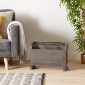 (NN92) 2000W Convector Heater Handy and portable, this freestanding convector heater delivers ...