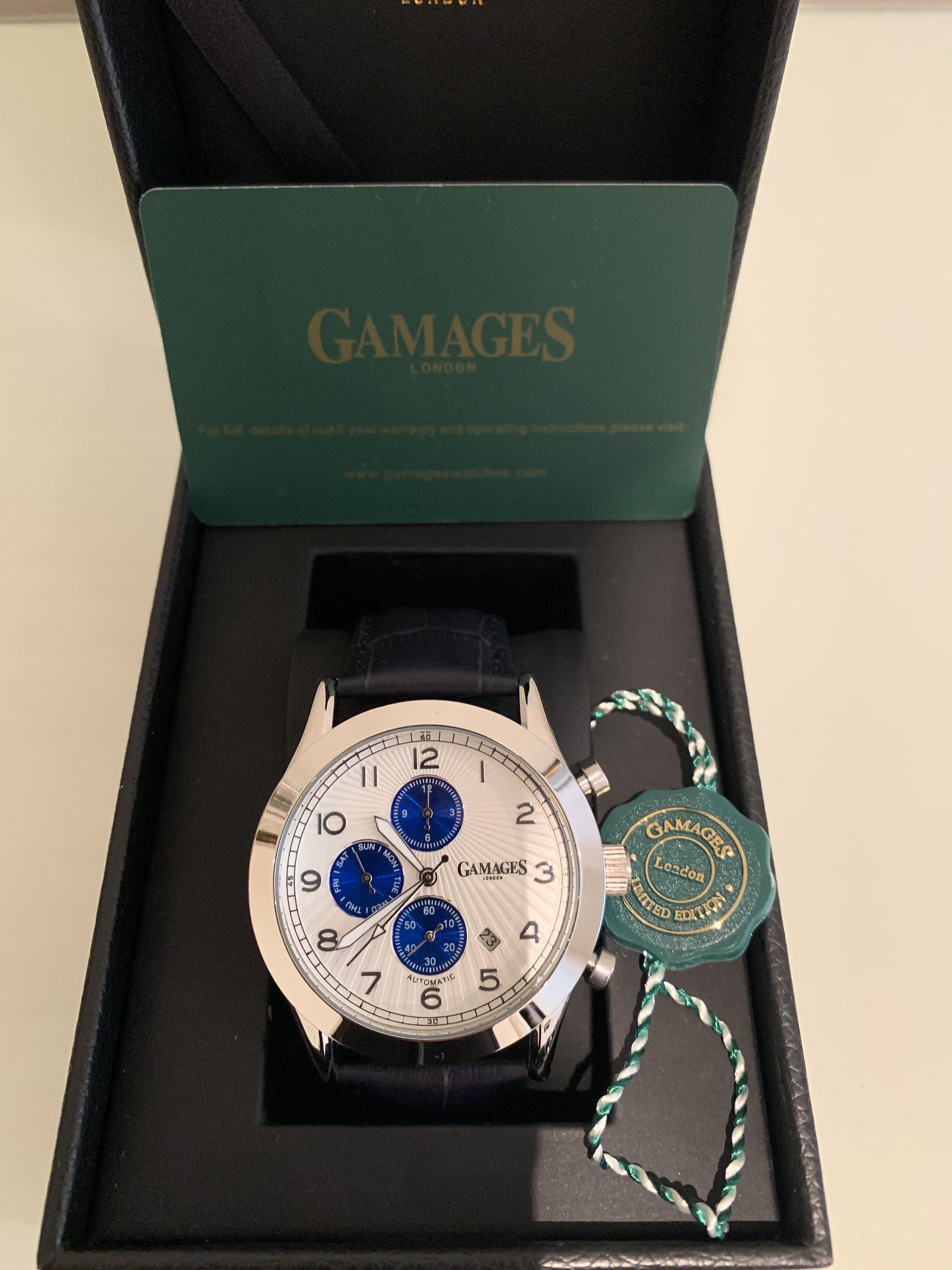 Lot 43 - Limited Edition Hand Assembled Gamages Infantry Automatic Steel – 5 Year Warranty & Free Delivery