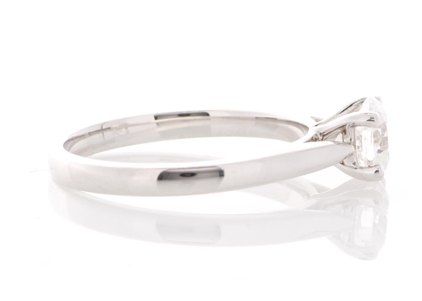 Lot 13 - 18ct White Gold Single Stone Prong Set Diamond Ring 0.73 Carats