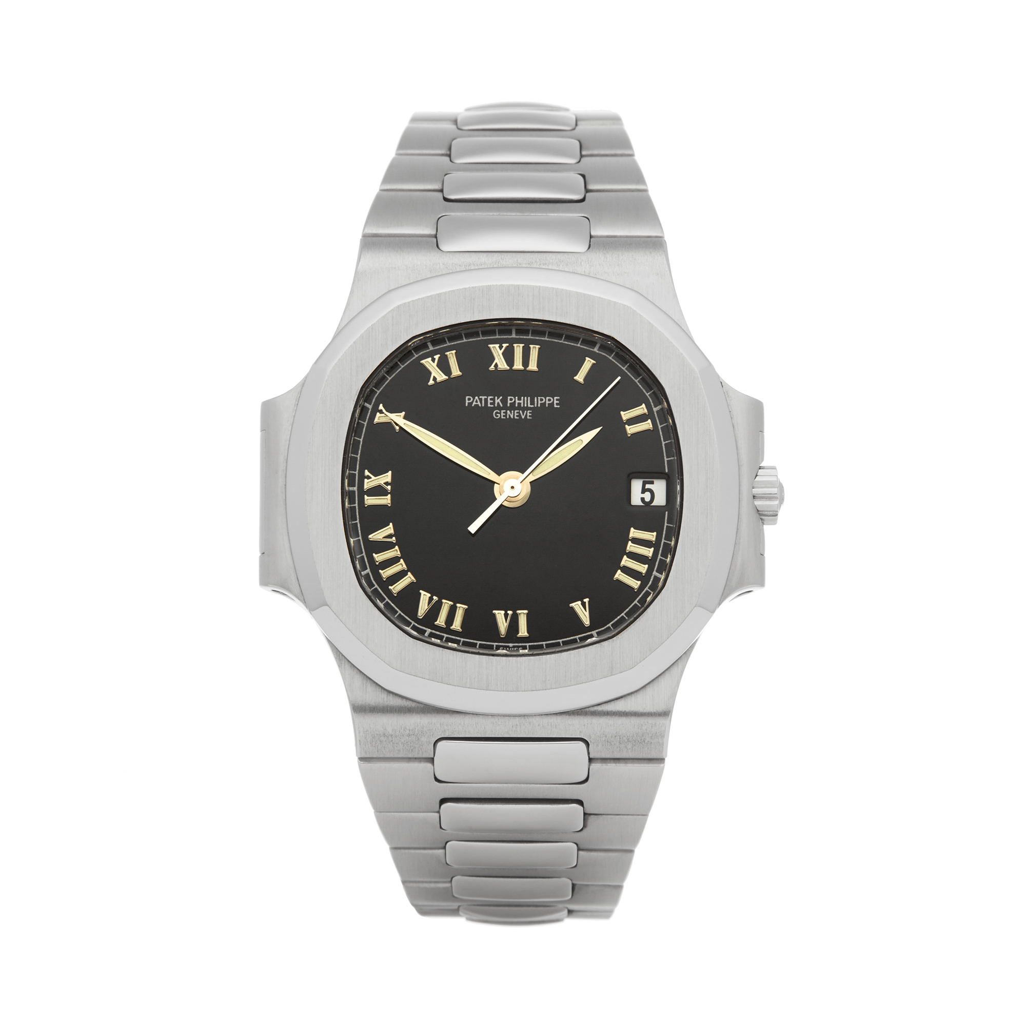 Lot 1 - Patek Philippe Nautilus 3800/1A-001 Men Stainless Steel Watch
