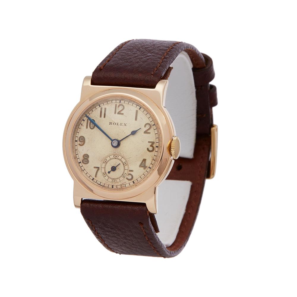 Lot 6 - Rolex Vintage 2467 Unisex Yellow Gold Watch