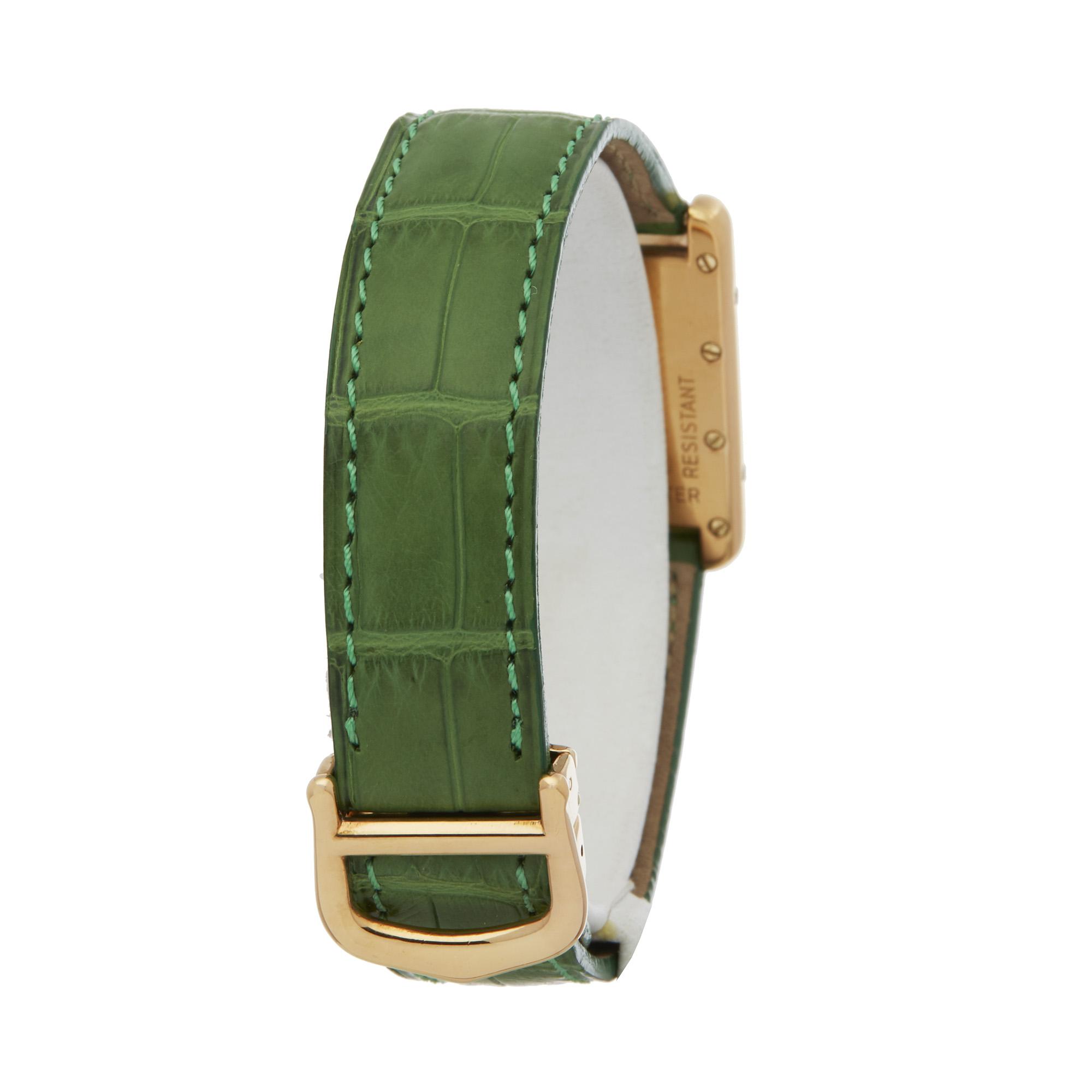 Lot 5 - Cartier Must de Cartier 2415 Men Gold Plated Watch