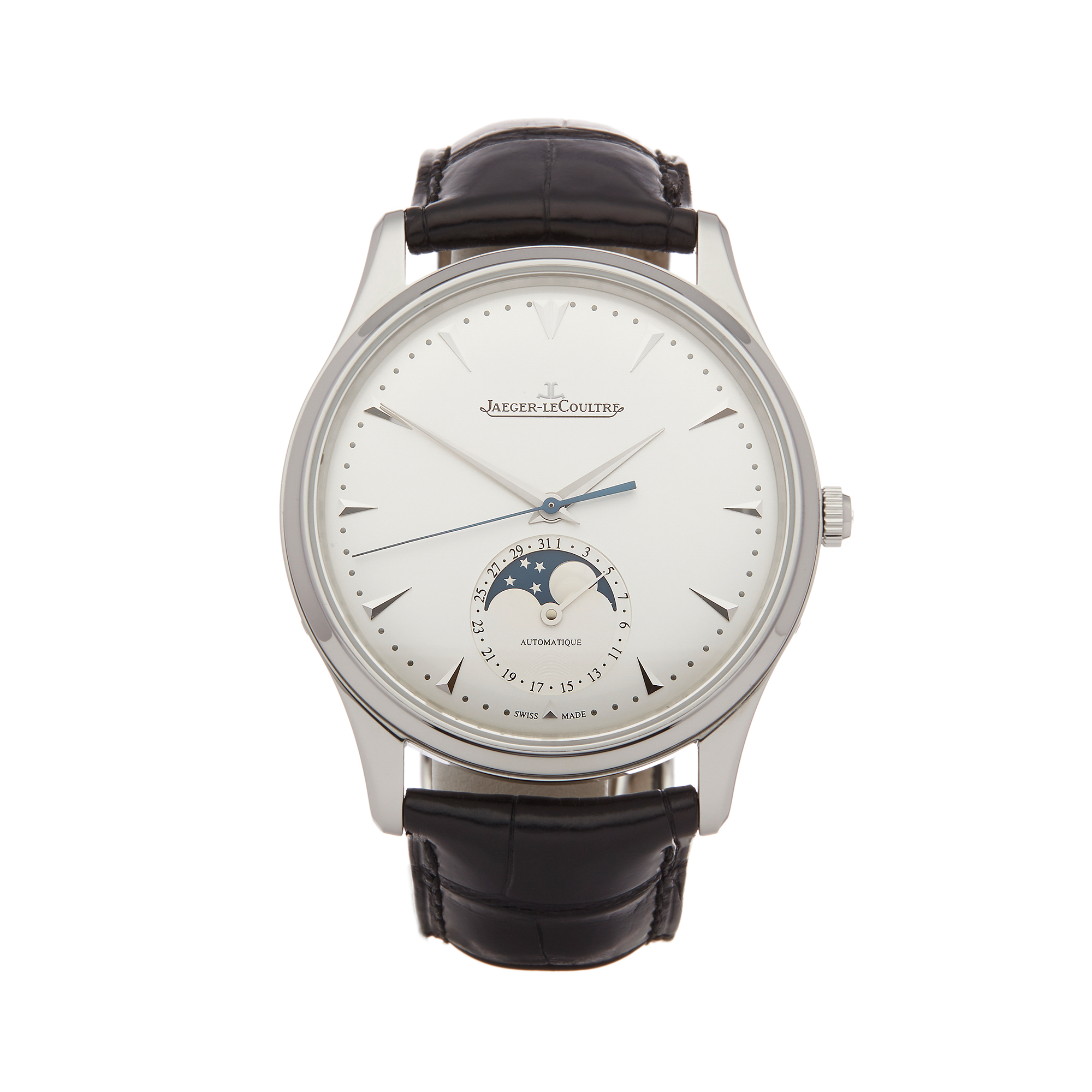 Lot 3 - Jaeger-LeCoultre Master Ultra Thin Q1368420 Men Stainless Steel Watch