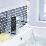 NEW & BOXED Niagra II Basin Mixer Tap. TB3107. Waterfall Feature Our range of waterfall taps a...